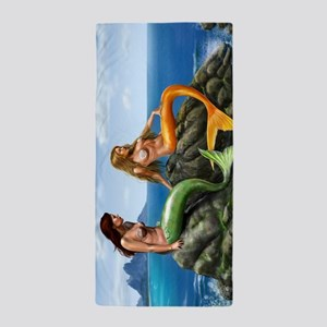 Beautiful Mermaids Beach Towel